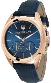 WATCH MASERATI TRAGUARDO 45MM CHR BLUE DIAL BLUE ST R8871612015