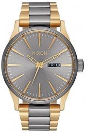 WATCH NIXON SENTRY SS GUNMETAL / GOLD A356595