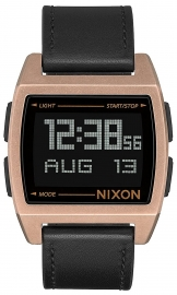 WATCH NIXON BASE LEATHER ANTIQUE COPPER / BLACK A1181872