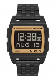 WATCH NIXON BASE ALL BLACK / GOLD A11071031