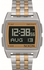WATCH NIXON BASE SILVER / LIGHT GOLD A11071431