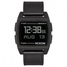 WATCH NIXON BASE LEATHER ALL BLACK A1181001