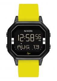 WATCH NIXON THE SIREN SS BLACK / YELLOW / ABYSSE A12112972