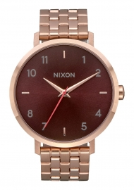 WATCH NIXON ARROW ALL ROSE GOLD / BROWN A10902617