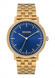 WATCH NIXON PORTER ALL GOLD / BLUE SUNRAY A10572735