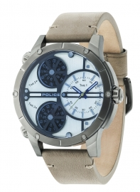 WATCH POLICE RATTLESNAKE TRIPLE TIM BEIGE DIAL SAND S R1451274002