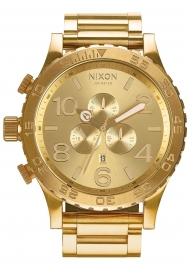 WATCH NIXON 51-30 CHRONO ALL GOLD A083502