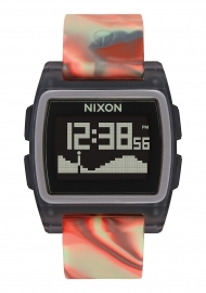 WATCH NIXON THE BASE TIDE JELLYFISH ORANGE A11043178