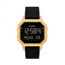 WATCH NIXON THE SIREN BLACK / GOLD A12112970
