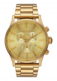 WATCH NIXON SENTRY CHRONO ALL GOLD A386502