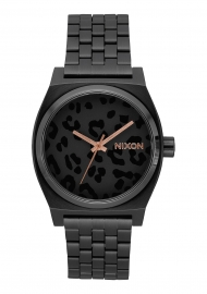 WATCH NIXON TIME TELLER / ALL BLACK / CHEETAH A0452125