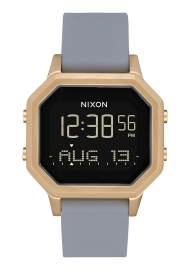 WATCH NIXON SIREN LIGHT GOLD / GRAY A12113163