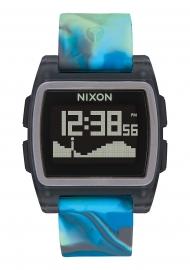 WATCH NIXON THE BASE TIDE JELLYFISH BLUE A11043176