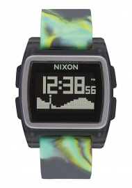 WATCH NIXON THE BASE TIDE JELLYFISH GREEN A11043177