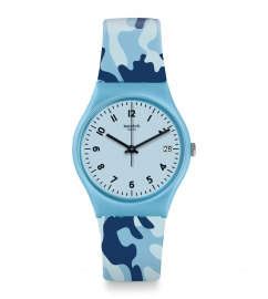WATCH SWATCH CAMOUBLUE GS402