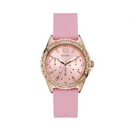 WATCH GUESS SPARKLING PINK W0032L9