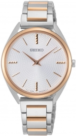 WATCH SEIKO LADIRS CUARZO BICOLOR IP ROSé SWR034P1