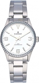 WATCH RADIANT MULAN ALL SS 30MM WHITE DIAL SILVER BAND RA537201