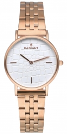 WATCH RADIANT COCO 32MM WHITE DIAL IPRG SS BAND RA527202