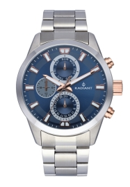 WATCH RADIANT GUARDIAN ALL SS 44MM BLUE DIAL SILVER BA RA479706