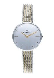 WATCH RADIANT CELINE 32MM SILVER DIAL 2TONE IPG SS MES RA522602