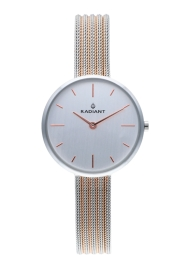 WATCH RADIANT CELINE 32MM SILVER DIAL 2TONE IPRG SS ME RA522601