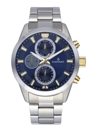WATCH RADIANT GUARDIAN ALL SS 44MM BLUE DIAL SILVER BA RA479707