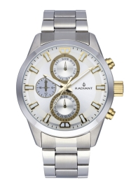 WATCH RADIANT GUARDIAN ALL SS 44MM SILVER DIAL & BAND RA479708