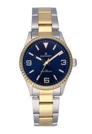 WATCH RADIANT MULAN ALL SS 30MM BLUE DIAL 2TONE IPG BA RA537202