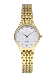 WATCH RADIANT BRAVE 28MM IPG DIAL IPG SS BAND RA526202