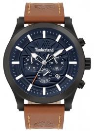 WATCH TIMBERLAND HARDWICK 48MM BLUE MULTI TAN LEATHER 15661JSB-03