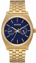 WATCH NIXON TIME TELLER DELUXE ALL GOLD / NAVY SUNRA A9222347