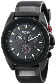 WATCH NIXON ROVER CHRONO ALL BLACK / RED A290760