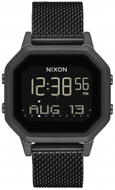 WATCH NIXON SIREN MILANESE ALL BLACK A1272001