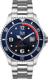 WATCH ICE WATCH STEEL - MARINE SILVER - EXTRA LARGE - 3H IC017324