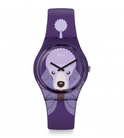 WATCH SWATCH PURPLE POODLE GV133
