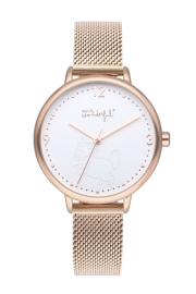 WATCH MR WONDERFUL WATCH SHINE AND SMILE / IPRG&WHITE / MH WR10001
