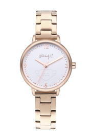 WATCH MR WONDERFUL WATCH SHINE AND SMILE / IPRG&WHITE / BR WR15000