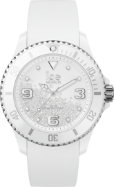 WATCH ICE WATCH CRYSTAL - WHITE SILVER - SMOOTH - MEDIUM IC017246