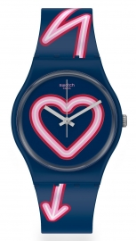 WATCH SWATCH FLASH OF LOVE GN267