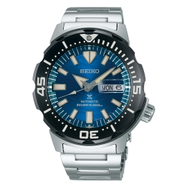 WATCH SEIKO PROSPEX SAVETHEOCEAN TIBURóN MONSTER SRPE09K1