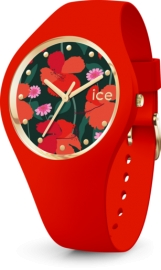 WATCH ICE WATCH FLOWER - FLORAL PASSION - MEDIUM - 3H IC017577