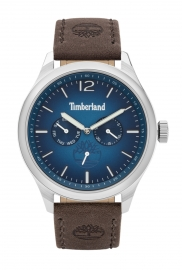 WATCH TIMBERLAND SAUGUS 46MM BLUE DIAL BROWN LEATHER STRA TBL.15940JS-03