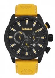 WATCH TIMBERLAND MILLWAY 46MM BLACK DIAL ORANGE LEATHER S TBL.16002JLAB-02