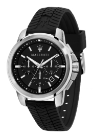 WATCH MASERATI SUCCESSO 44MM CHR SS CAS BLK DIAL BLK ST R8871621014