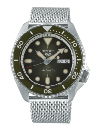 WATCH SEIKO 5 SPORTS AUTOMáTICO SUITS SRPD75K1