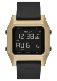WATCH NIXON STAPLE BLACK / GOLD A1282010