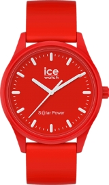 WATCH ICE WATCH SOLAR POWER - RED SEA - MEDIUM - 3H IC017765