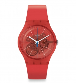 WATCH SWATCH BLOODY ORANGE SUOO105