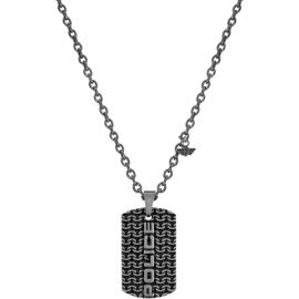 WATCH POLICE JEWELS ENGAWA NECKLACE SILVER SS PENDANT PJ.26565PSE-01